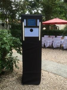 Fotobox Tower im Freien