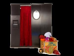 Fotobox mit kuscheliger Kabine