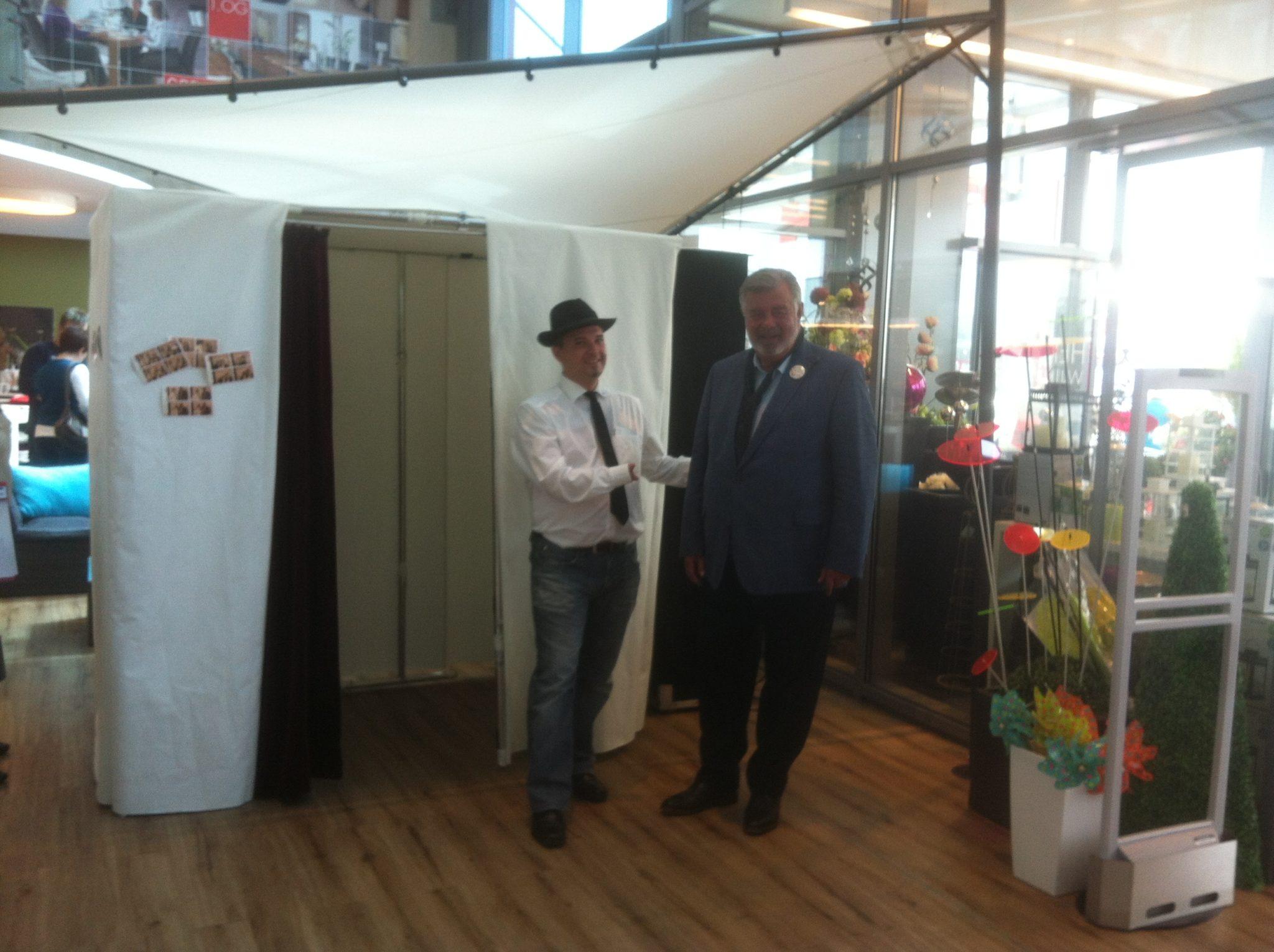 Fotobox bei Möbel Preiss