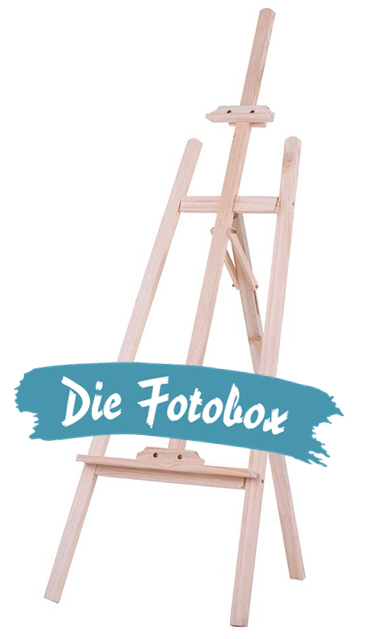 Fotobox Staffelei