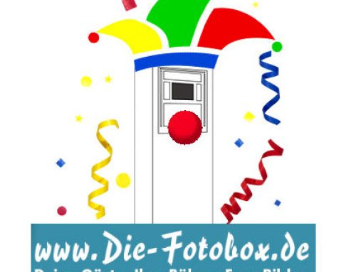 Die Fotobox für Fasching, Karneval oder Fastnacht