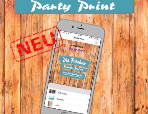 Fotobox Partyprint mieten
